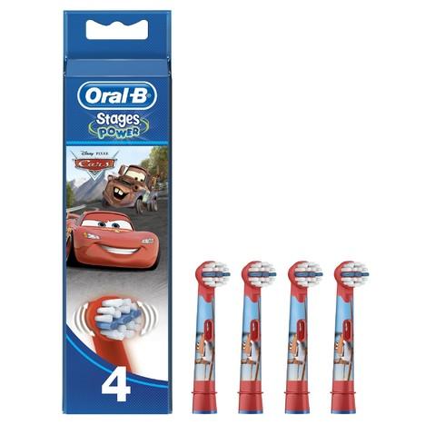 Oral B Stages Kids EB 10-4 MN náhradné hlavice 4ks - AUTÍČKO