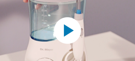 RECENZIA: ústna sprcha Dr. Mayer WT6000
