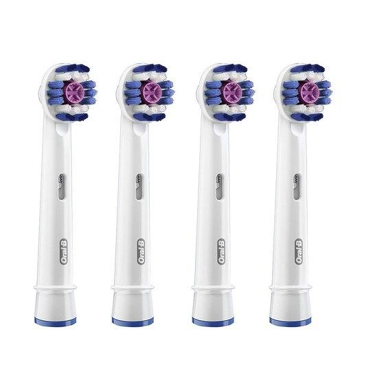 Oral-B 3D White EB 18-4 náhradné kefky 4 ks