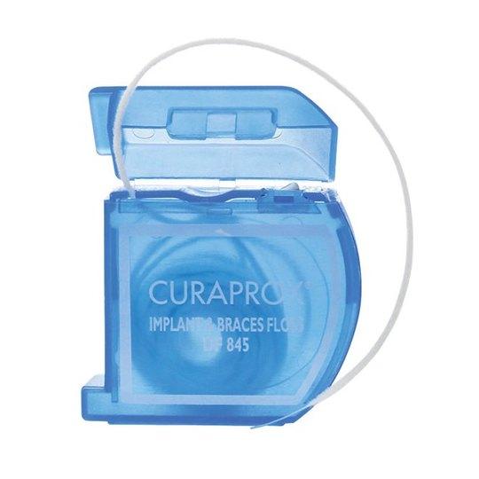 Curaprox DF 845 dentálna niť na rovnátka a implantáty 50 ks