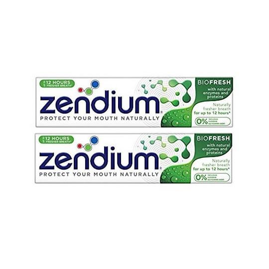 Zendium Biofresh zubná pasta 2×75 ml