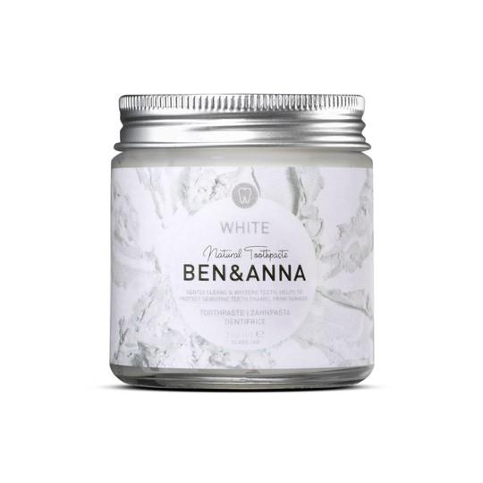 Ben & Anna White bieliaca zubná pasta 100 ml
