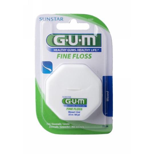 GUM Fine waxed voskovaná zubná niť 55 m