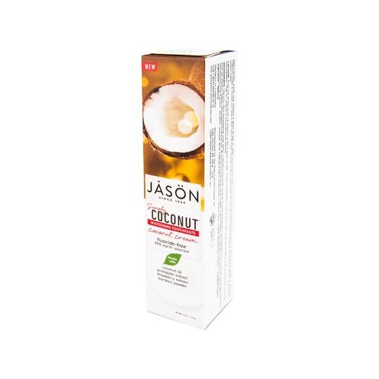 JĀSÖN Simply Coconut Whitening zubná pasta 119 g
