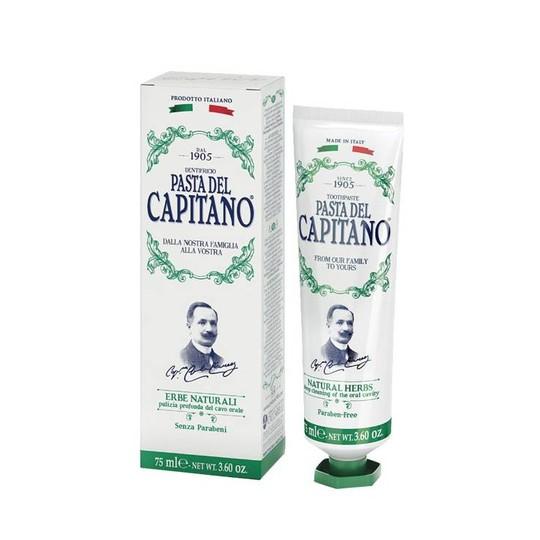 Pasta del Capitano Natural Herbs zubná pasta 75 ml