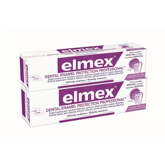 Elmex Dental Enamel Protection Professional 2x 75 ml + Elmex 400 ml