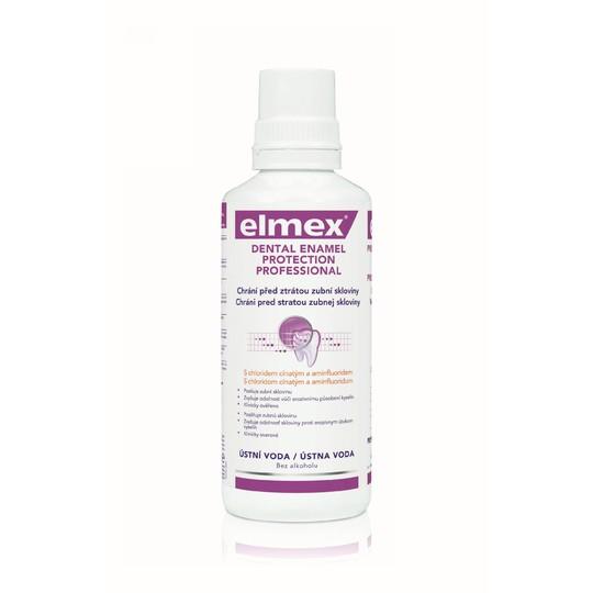 Elmex Dental Enamel Protection Professional ústna voda 400ml