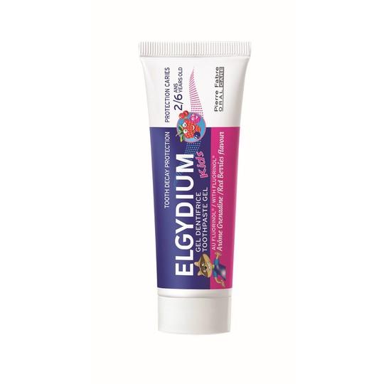 Elgydium Kids Red Berries detská zubná pasta 50 ml