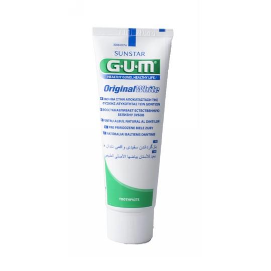 GUM Original White zubná pasta 75 ml