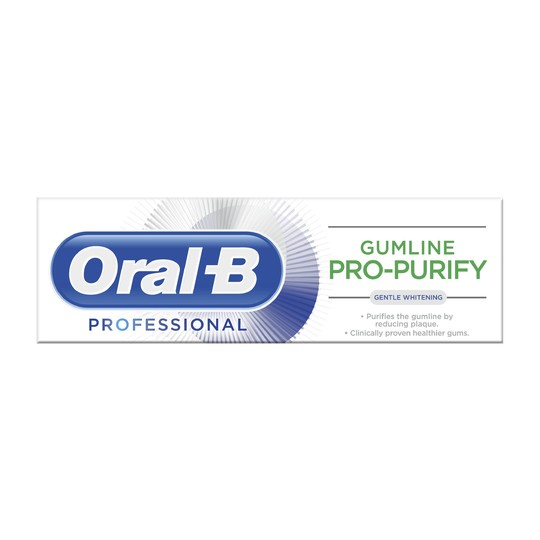 Oral-B Professional Gum Pro-Purify Gentle Whitening zubná pasta 75 ml