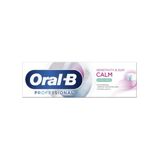 Oral-B Professional Sensitivity & Gum Calm Extra Fresh zubná pasta 75 ml