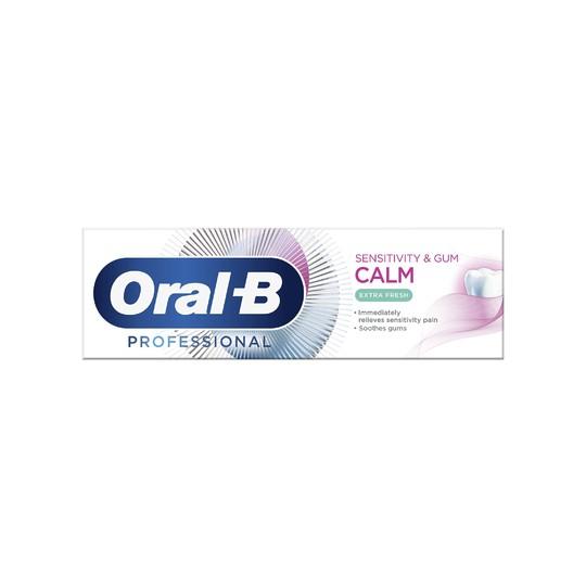 Oral-B Professional Sensitivity & Gum Calm Extra Fresh zubná pasta 75 ml