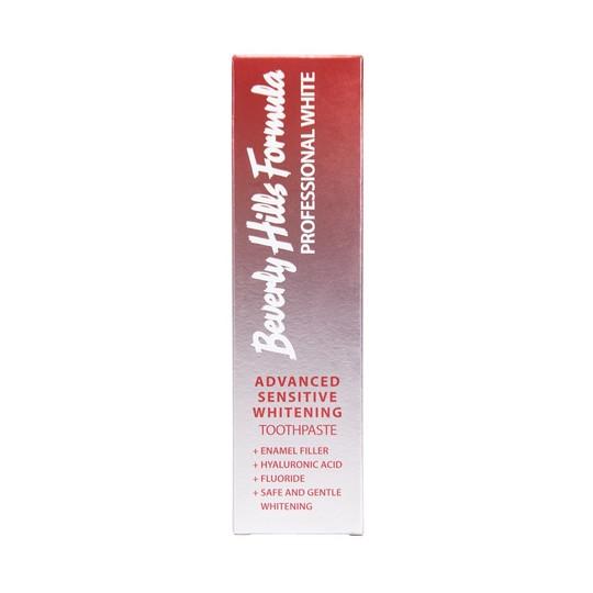 Beverly Hills Formula Advanced Sensitive Whitening bieliaca zubná pasta 100 ml