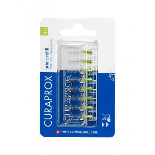 Curaprox CPS 011 prime REFILL medzizubné kefky  8 ks