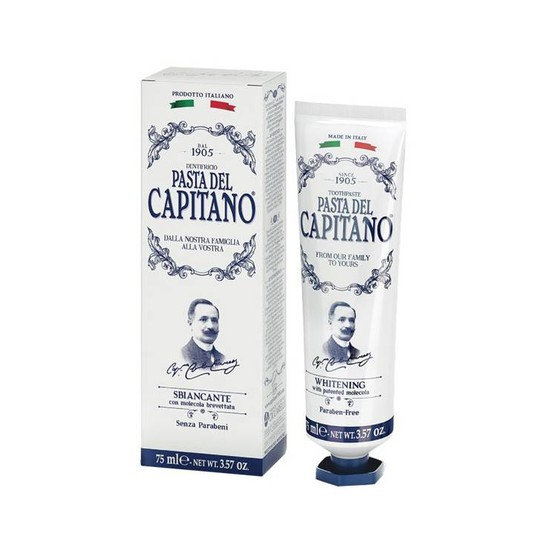 Pasta del Capitano Whitening zubná pasta 75 ml