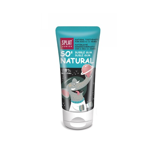 Splat Junior 6-11 Bubble Gum detská zubná pasta 55 ml