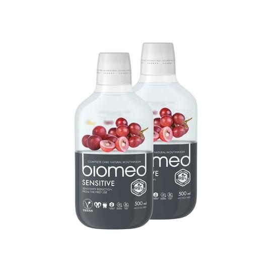Biomed Sensitive ústna voda 2x500 ml